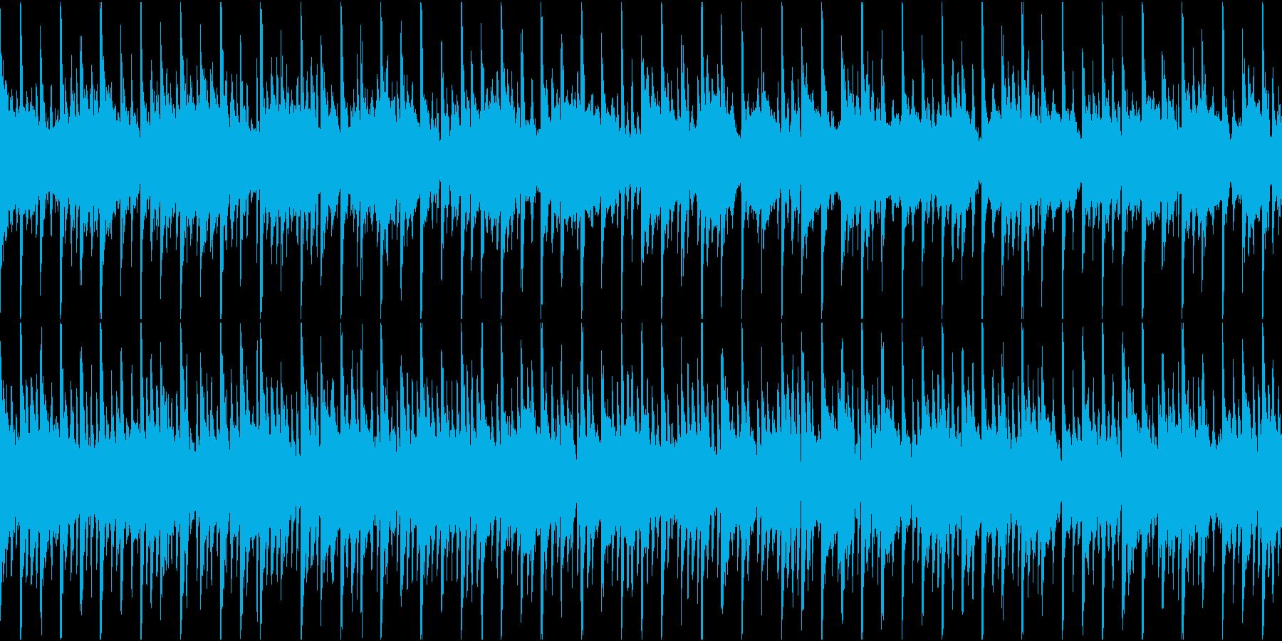 ポップ テクノ ループの再生済みの波形