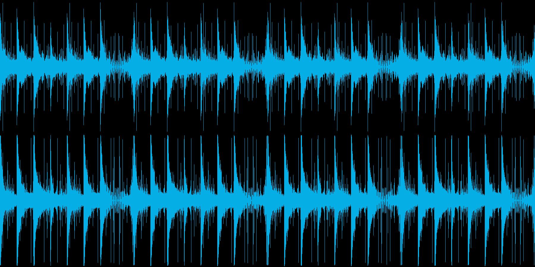 【雨/悲しみのピアノバラード】の再生済みの波形