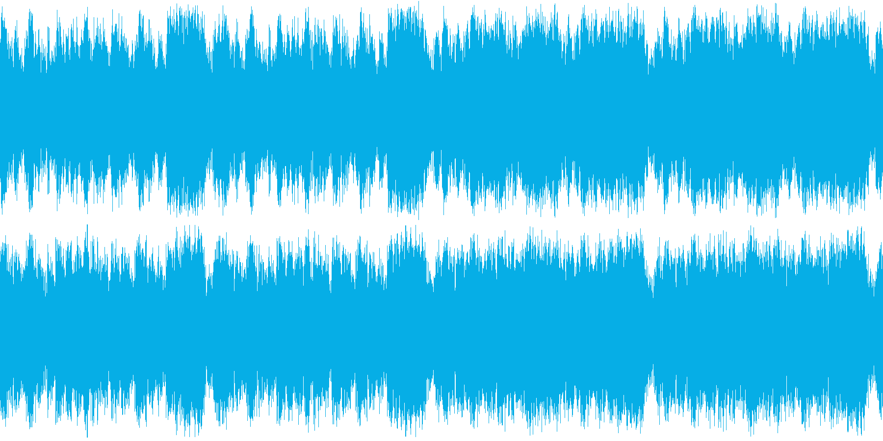 マップ画面・海賊海戦ループ・オーケストラの再生済みの波形