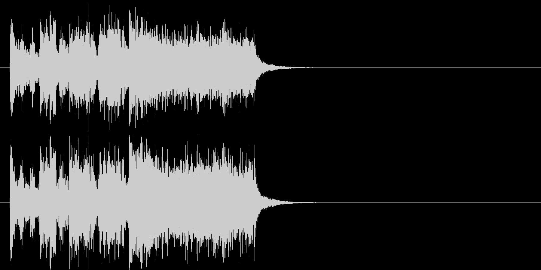 ファンファーレ 登場 イベント コミカルの未再生の波形