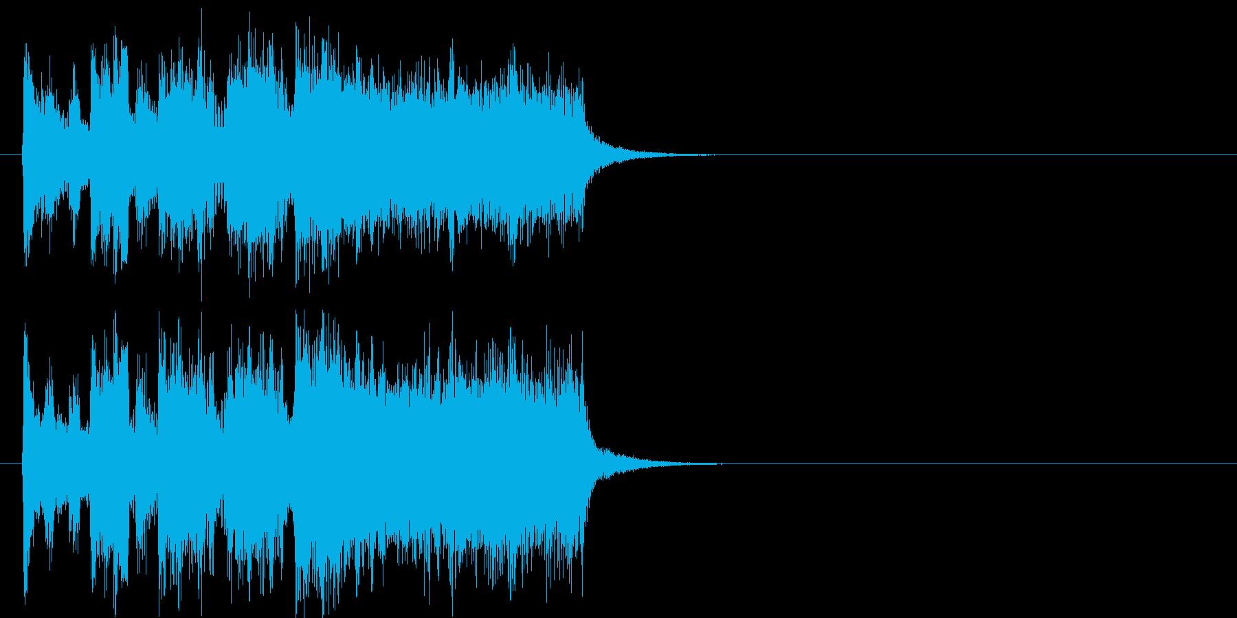 ファンファーレ 登場 イベント コミカルの再生済みの波形