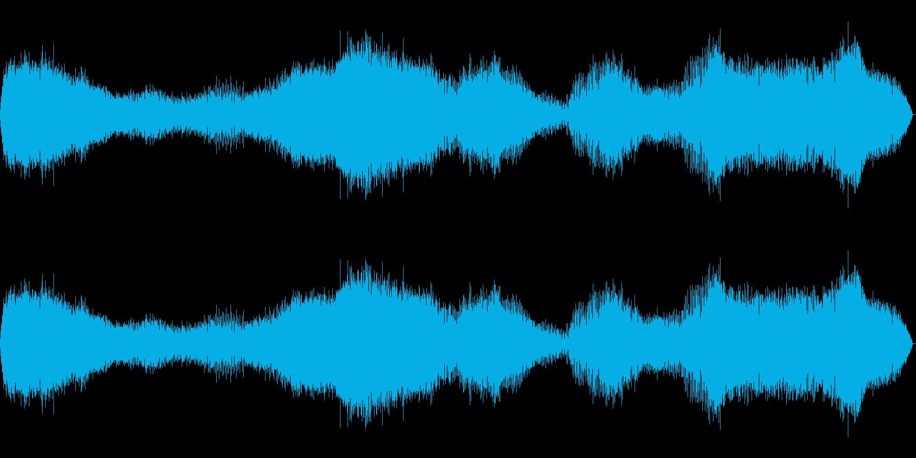 ラジオのチューニングの再生済みの波形