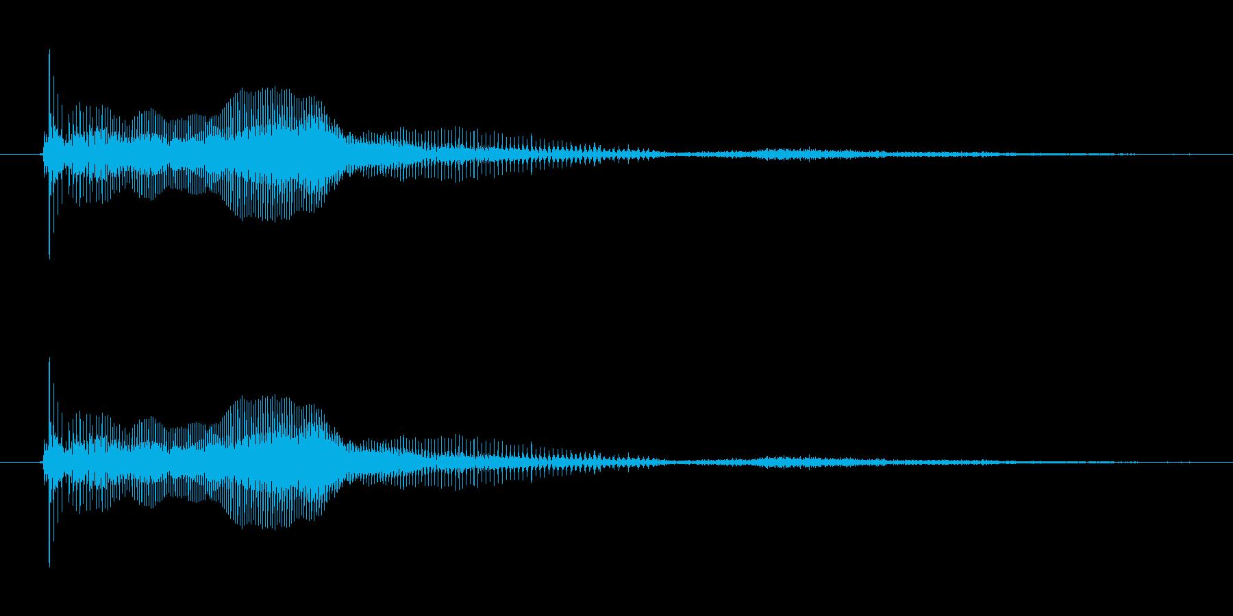 ↑イェース!【正解など、ハイテンション】の再生済みの波形