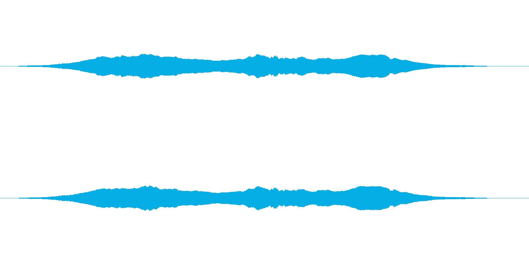【蚊 生録01-1】の再生済みの波形