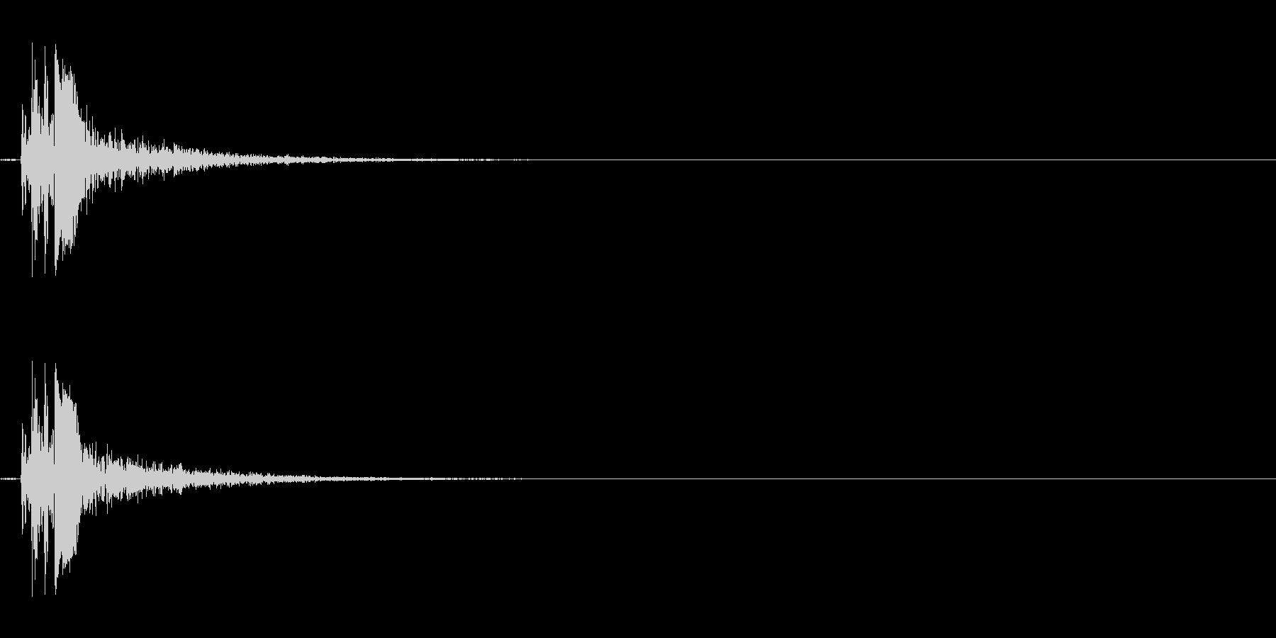 バブル02(ポワン)Var1の未再生の波形