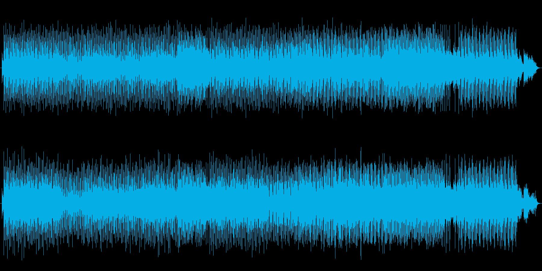 おしゃれで柔らかい旋律。花畑をイメージの再生済みの波形