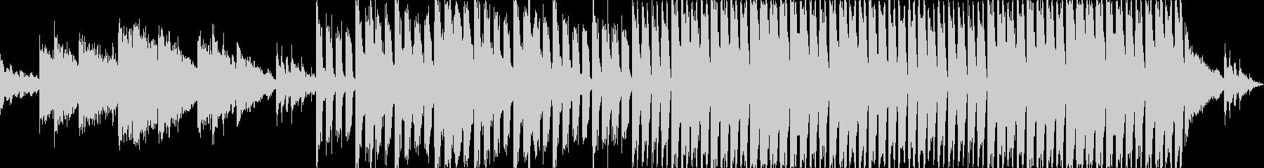 クラブハウスEDMサウンドBGM02の未再生の波形