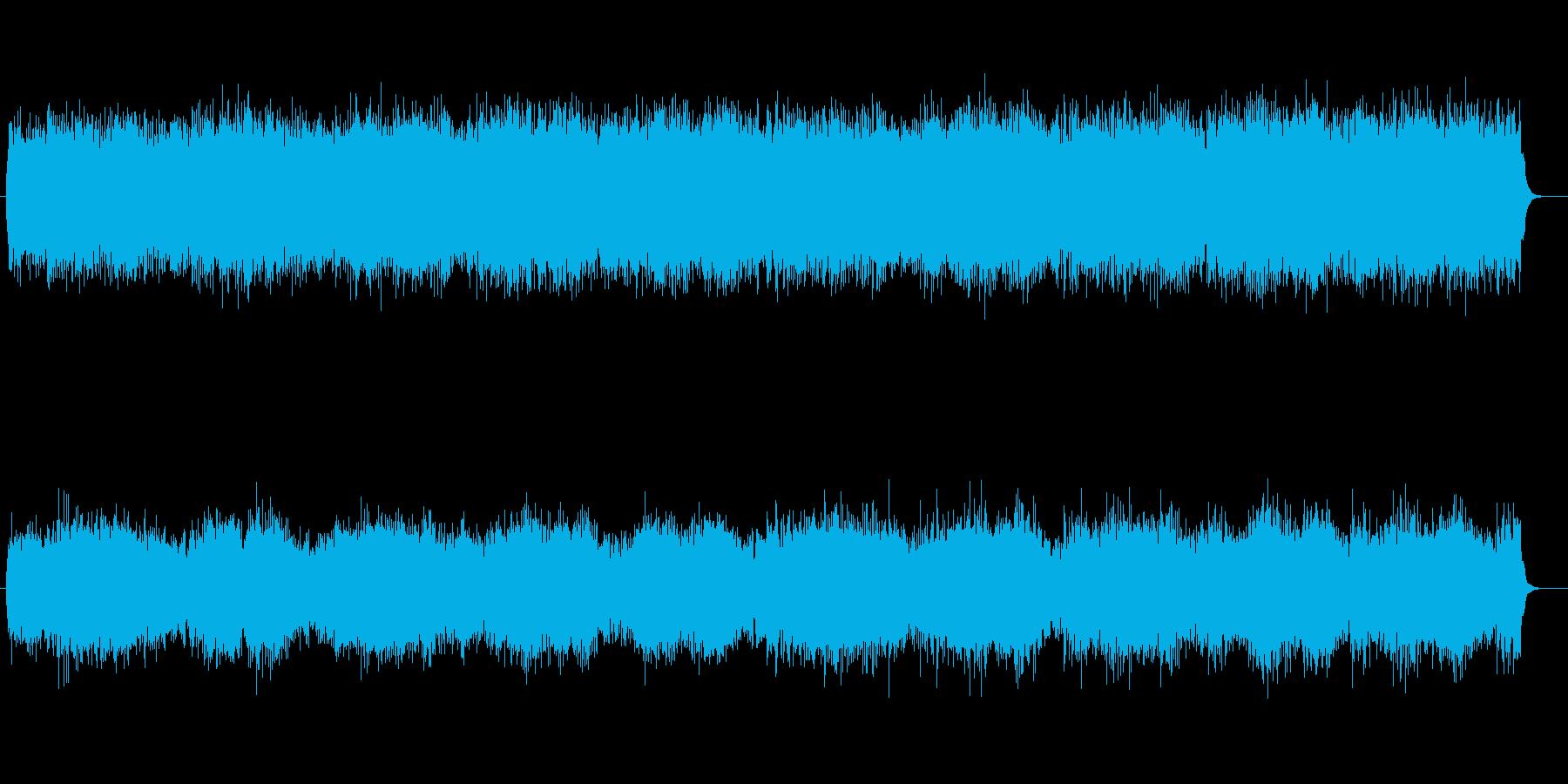 脈動感溢れる近未来的テクノポップサウンドの再生済みの波形