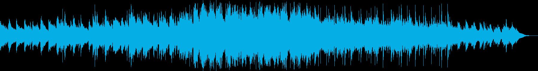 ほのぼのとふわり感ある曲の再生済みの波形