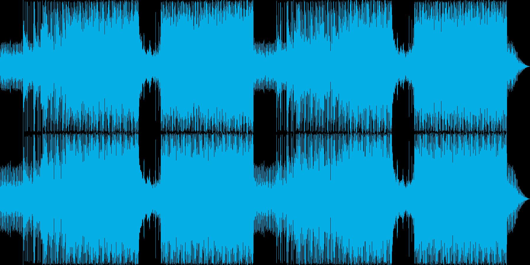 推理シーンにぴったりのミステリアスな曲の再生済みの波形