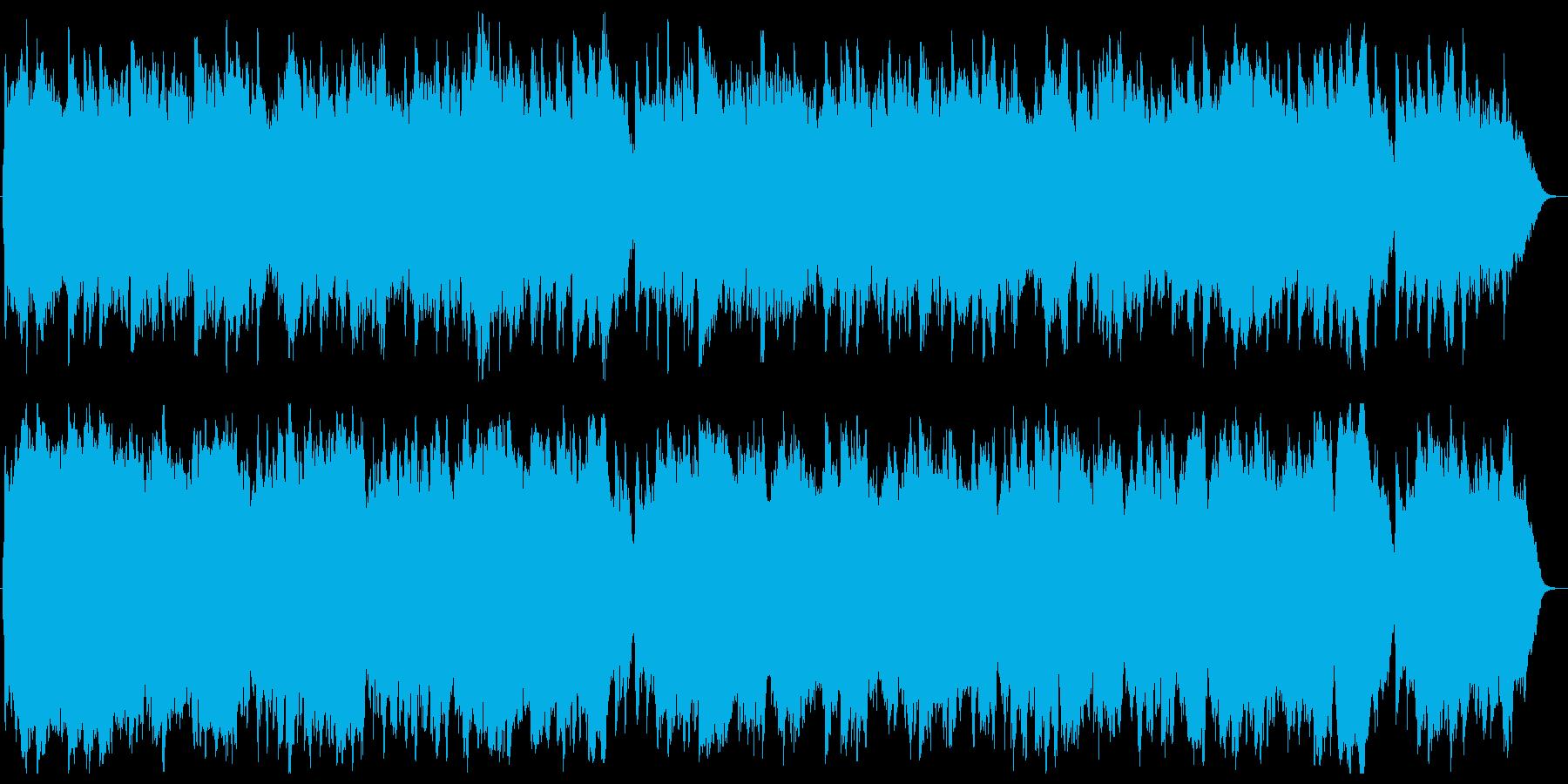 聖しこの夜 オルゴール&Str.の再生済みの波形