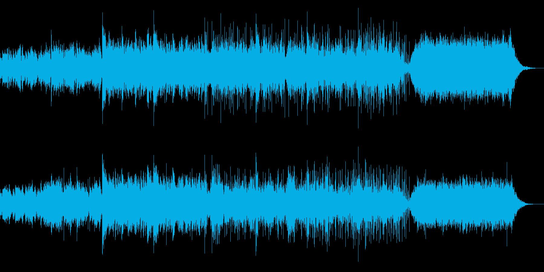 オリエンタルなチルアンビエントの再生済みの波形