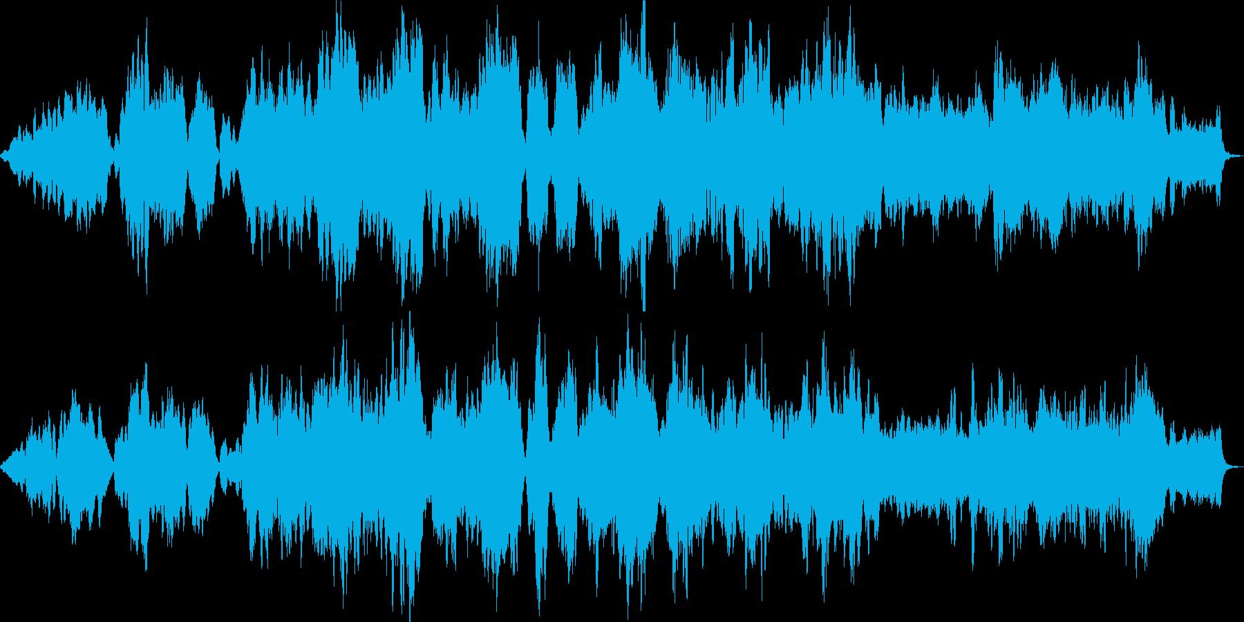 クロード・ドビュッシーの前奏曲 第8曲の再生済みの波形