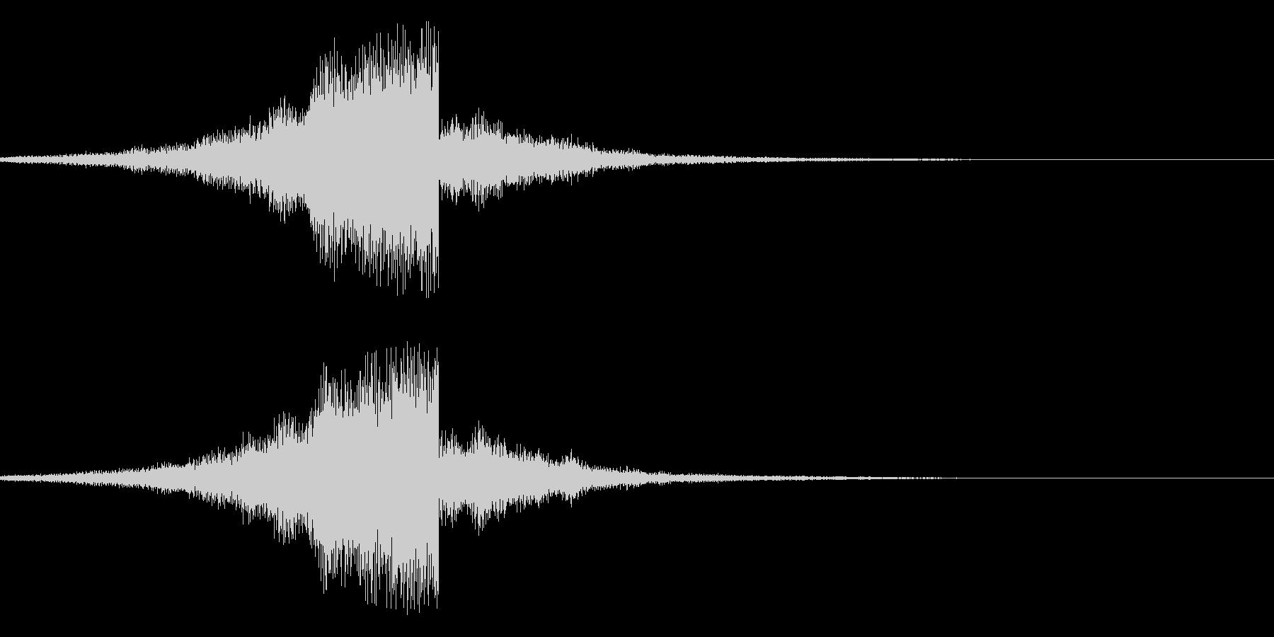 フゥーーーーーンの未再生の波形
