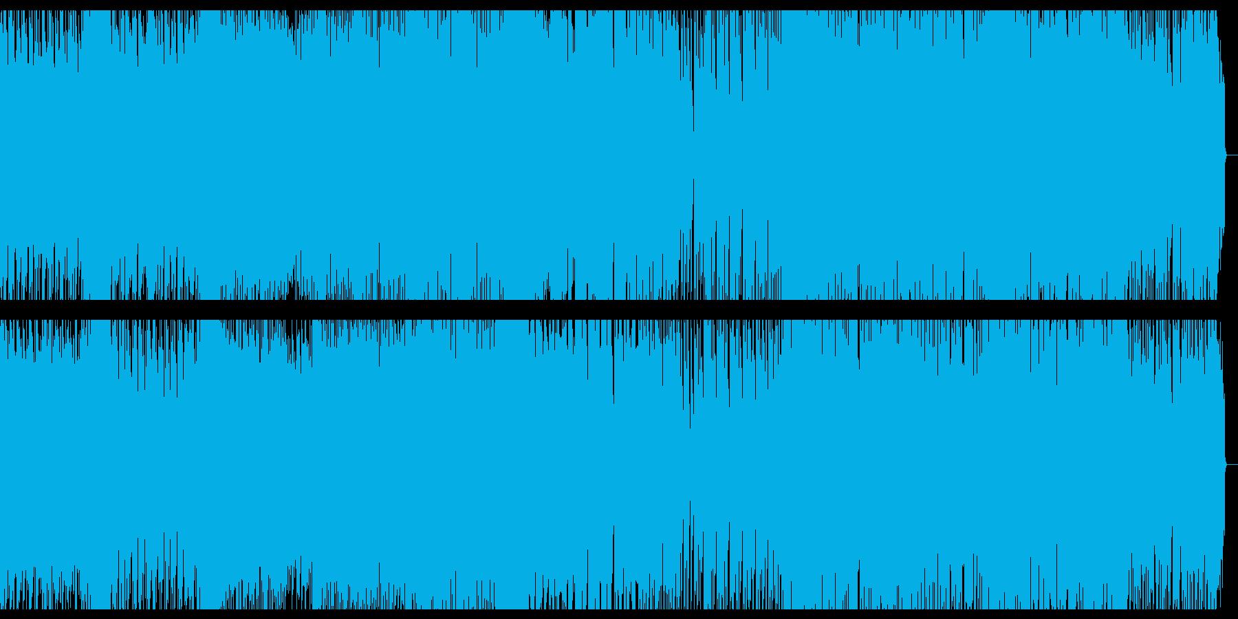 緊迫感とせつなさが交じわるEDMの再生済みの波形