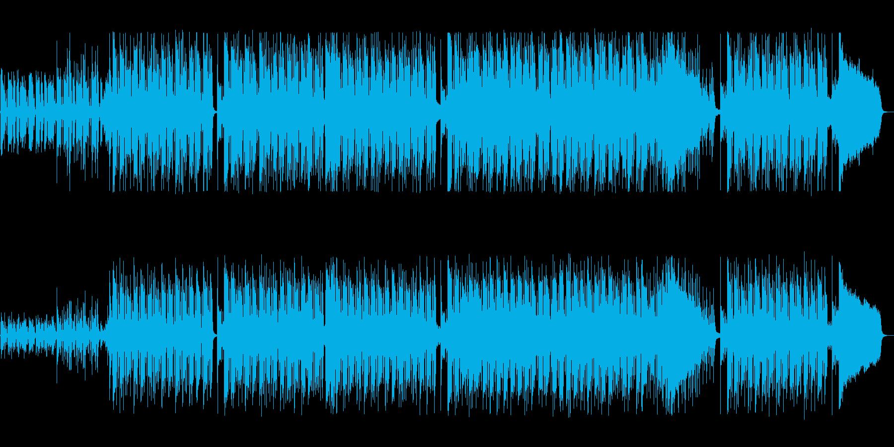 穏やかでリズミカルなポップサウンドの再生済みの波形
