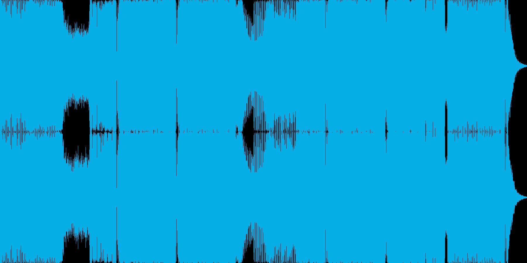 2015年代のハウス系EDMの再生済みの波形