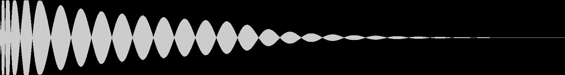 DTM Kick 90 オリジナル音源の未再生の波形