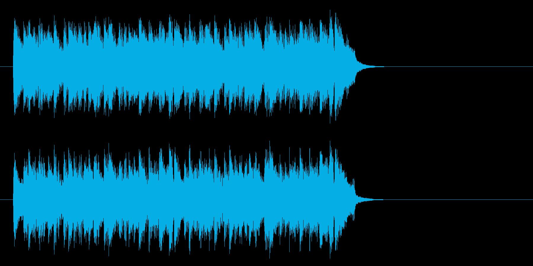 不安をはねのけるポップ(サビ)の再生済みの波形