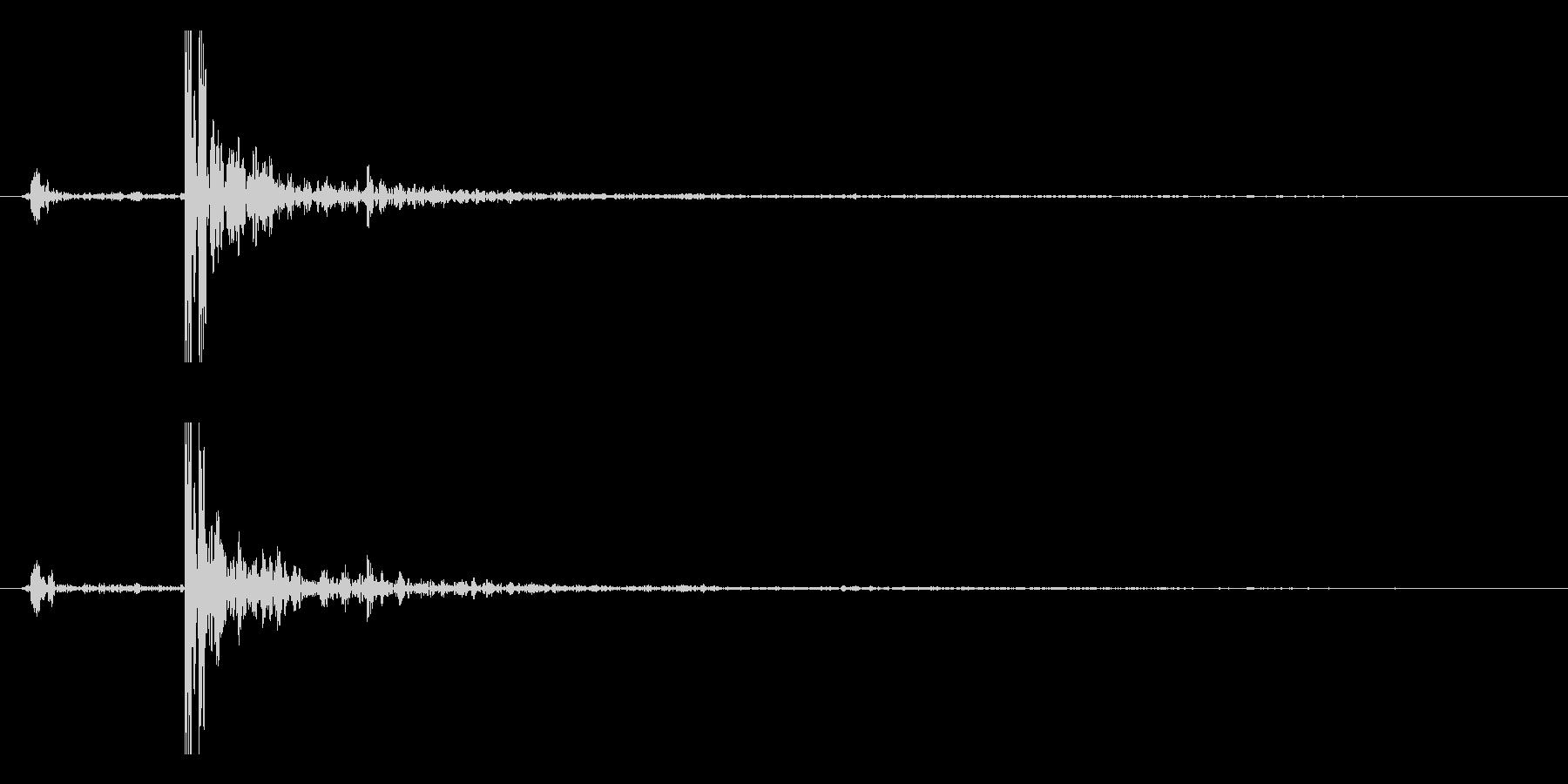 打ち上げ花火(ドン!)の未再生の波形