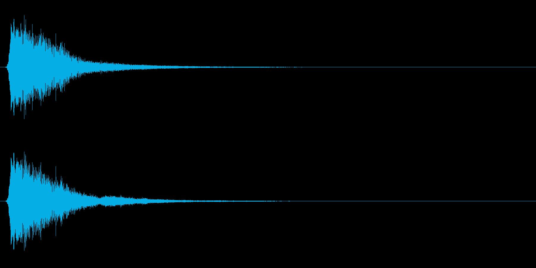 キラキラ系_009の再生済みの波形