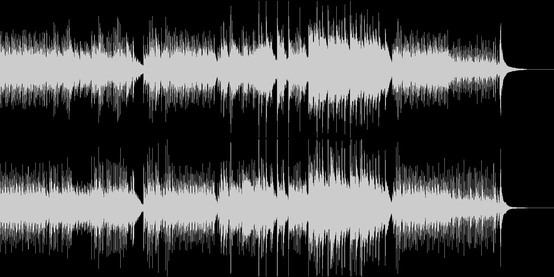 ピアノ/やさしい/シンプル/朝日/光の未再生の波形