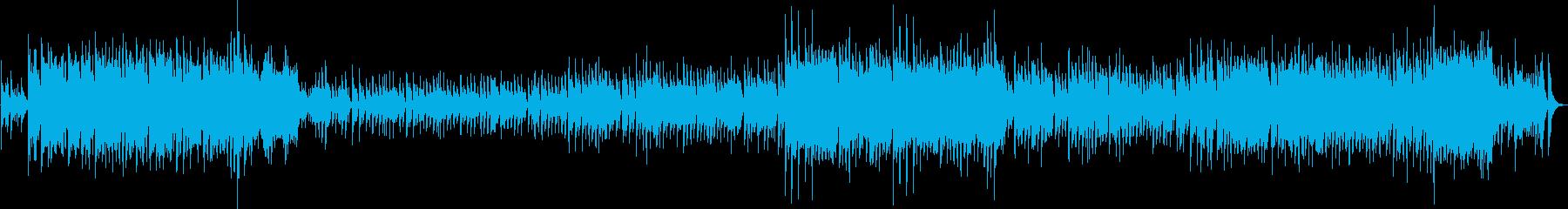 中国楽器を使った祭りの曲の再生済みの波形