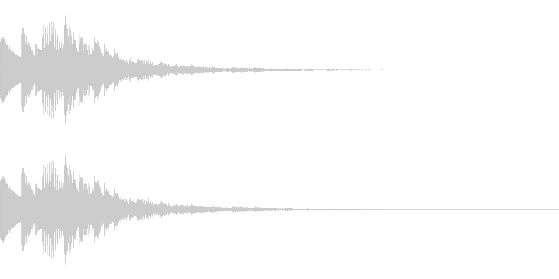 決定音/キラキラ/回復/星/セーブの未再生の波形
