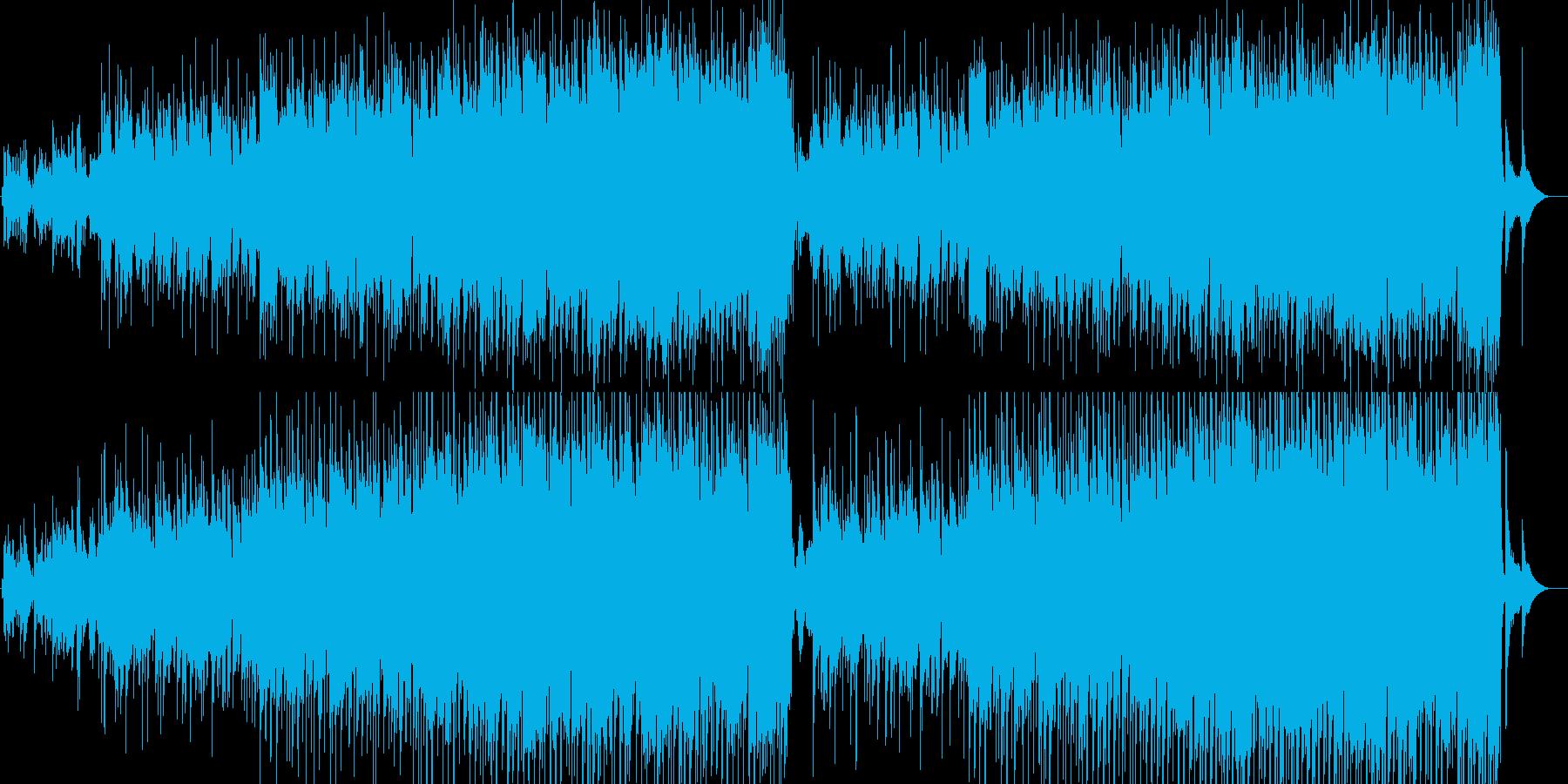 RPGの村や街で流れてそうな曲の再生済みの波形