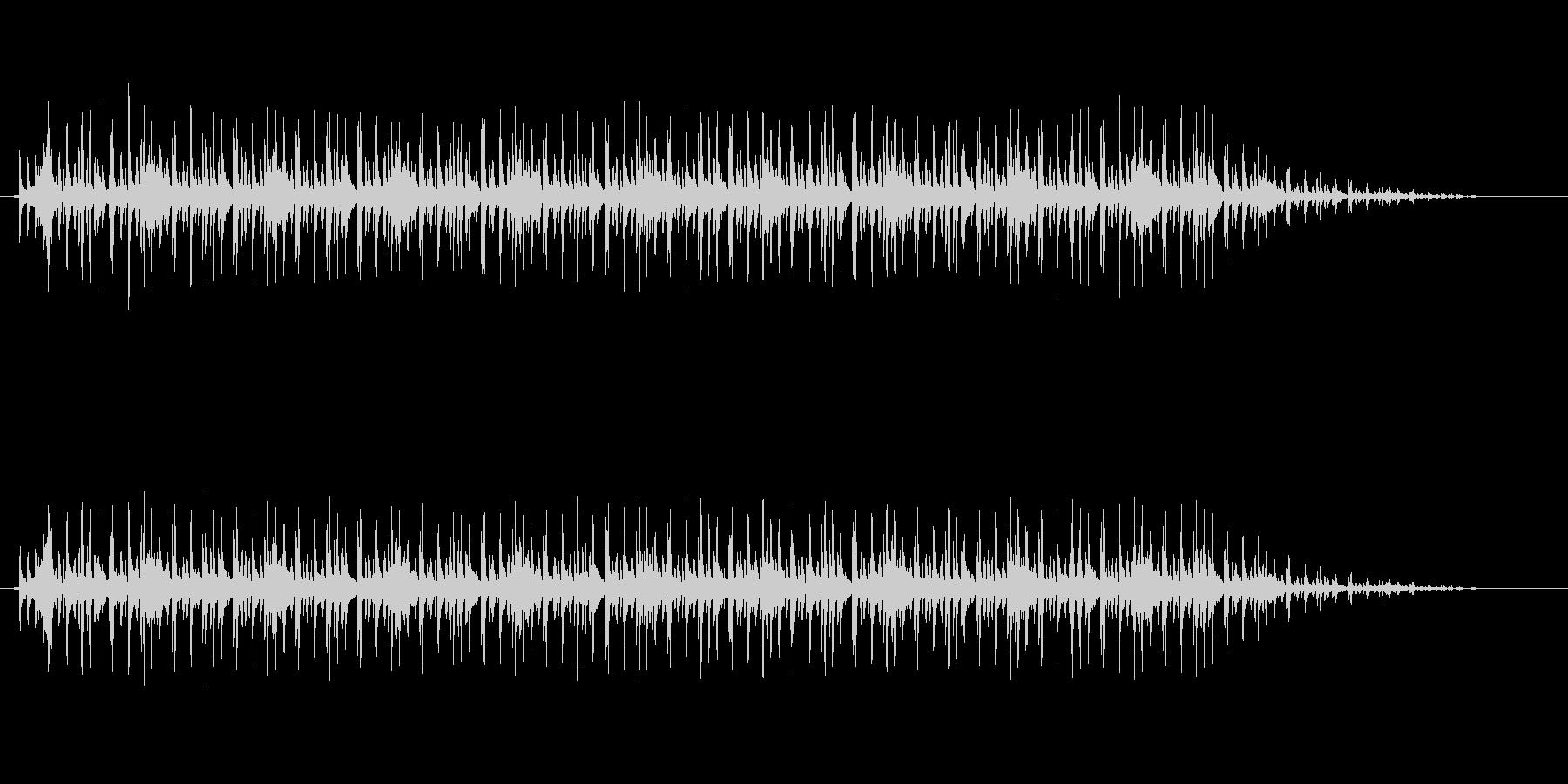 わくわくするディスコ調サウンドの未再生の波形