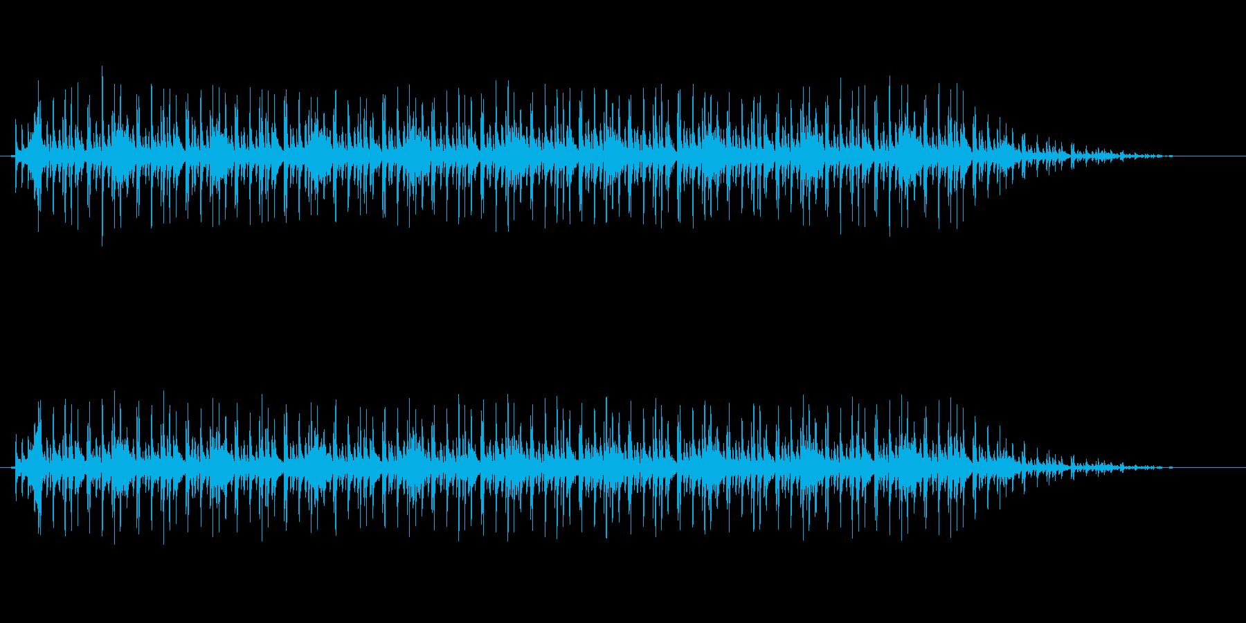 わくわくするディスコ調サウンドの再生済みの波形