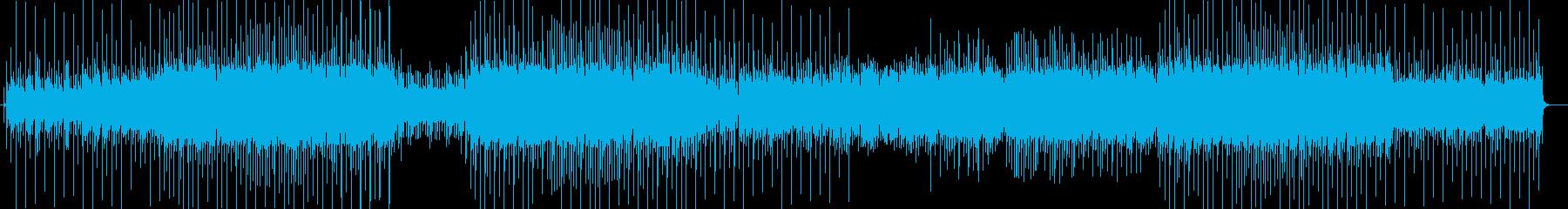 「お正月」 かわいいテクノポップの再生済みの波形