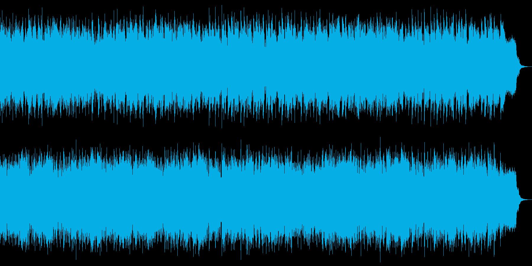 リズムもテンポも心が弾むようなピアノ曲の再生済みの波形