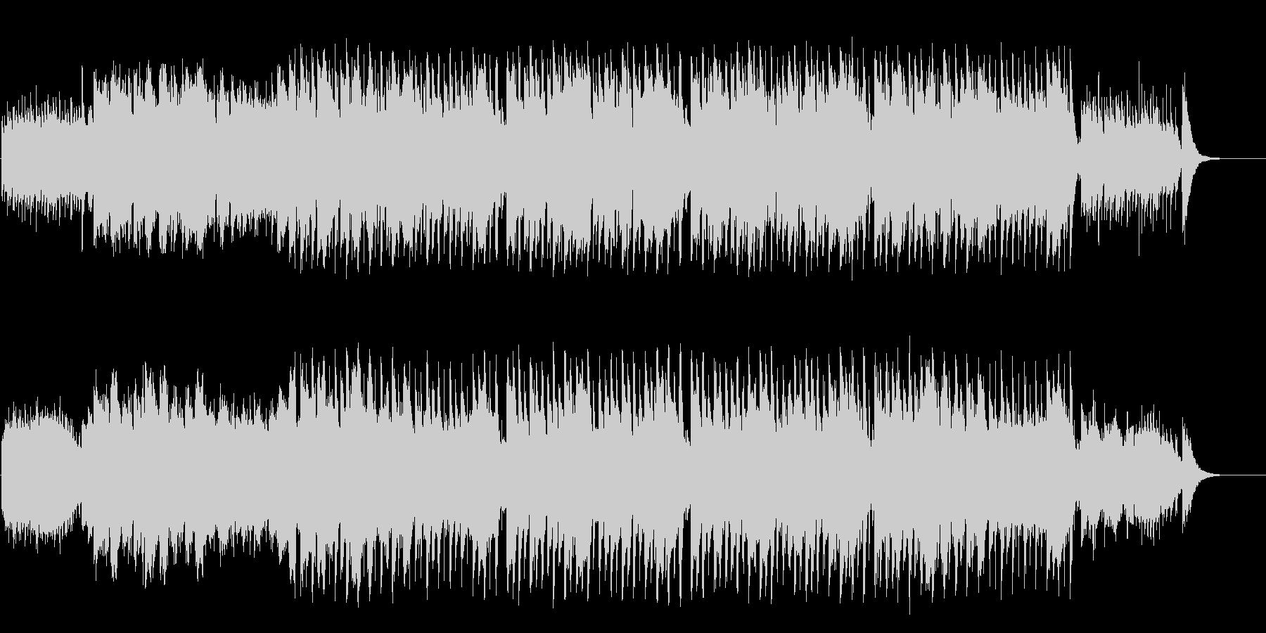 メルヘンなブライダル風セミクラシックの未再生の波形