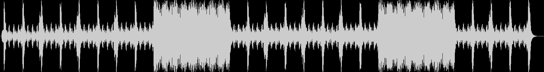 壮大なスケール感のオーケストラサウンドの未再生の波形