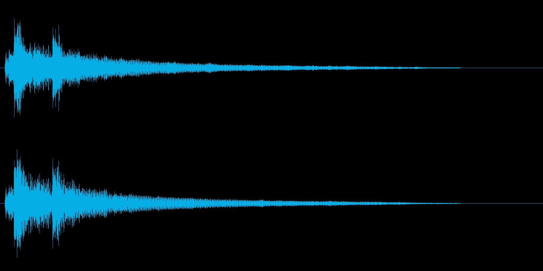 クリック音3からくり小箱 ファンタジー系の再生済みの波形