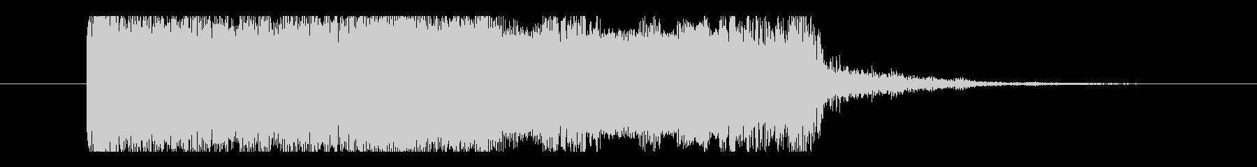 ユニゾンチョーキング2、Eギターサウンドの未再生の波形