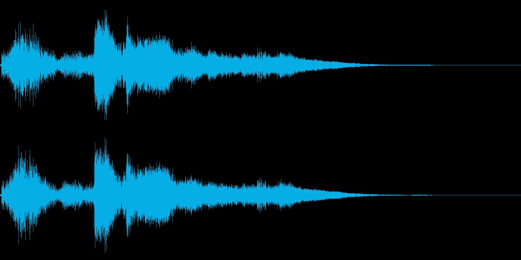 コイン!レジ ショップ アイテムゲット8の再生済みの波形