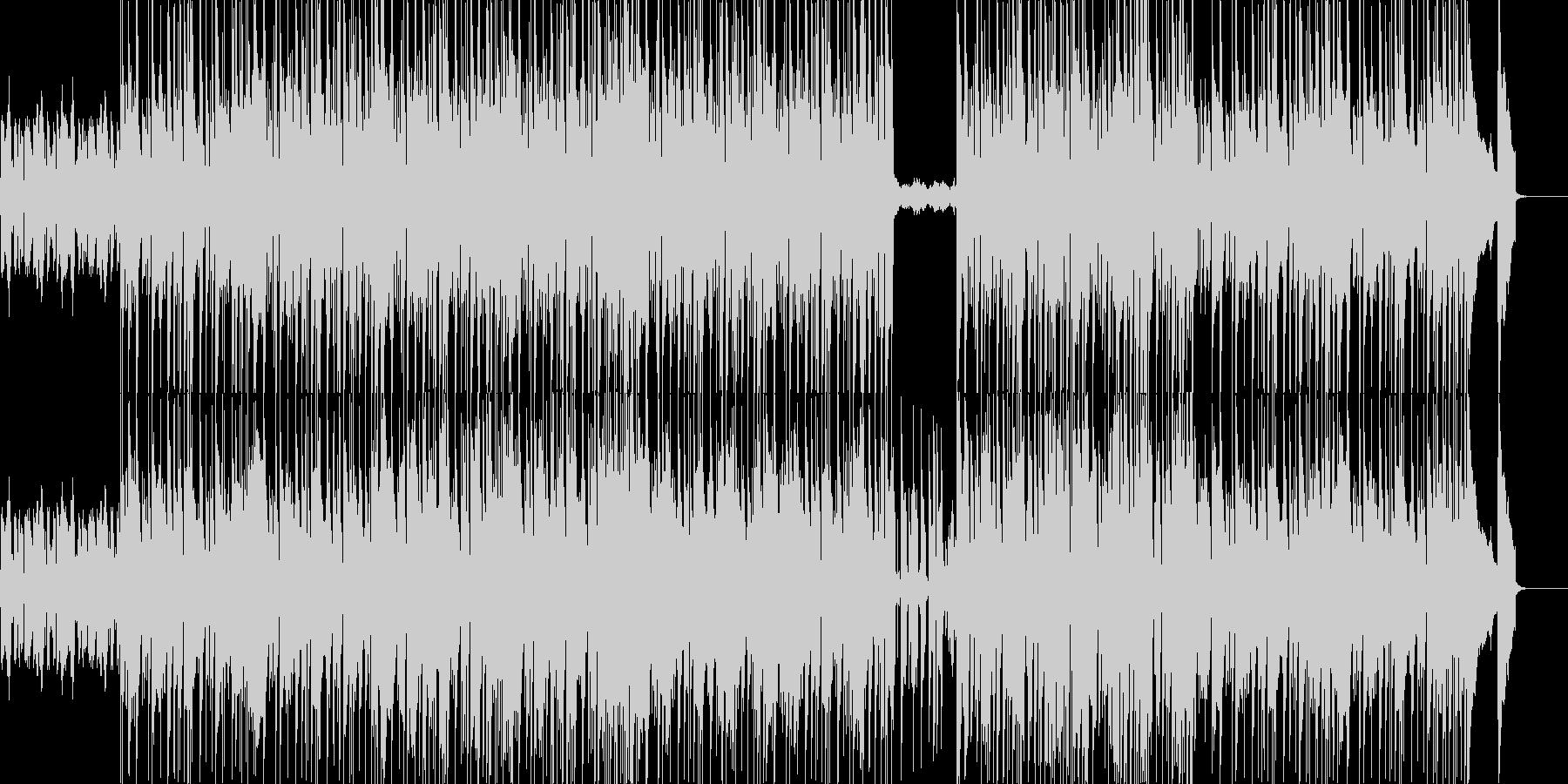 映像系似合いそうなロックブルースの未再生の波形