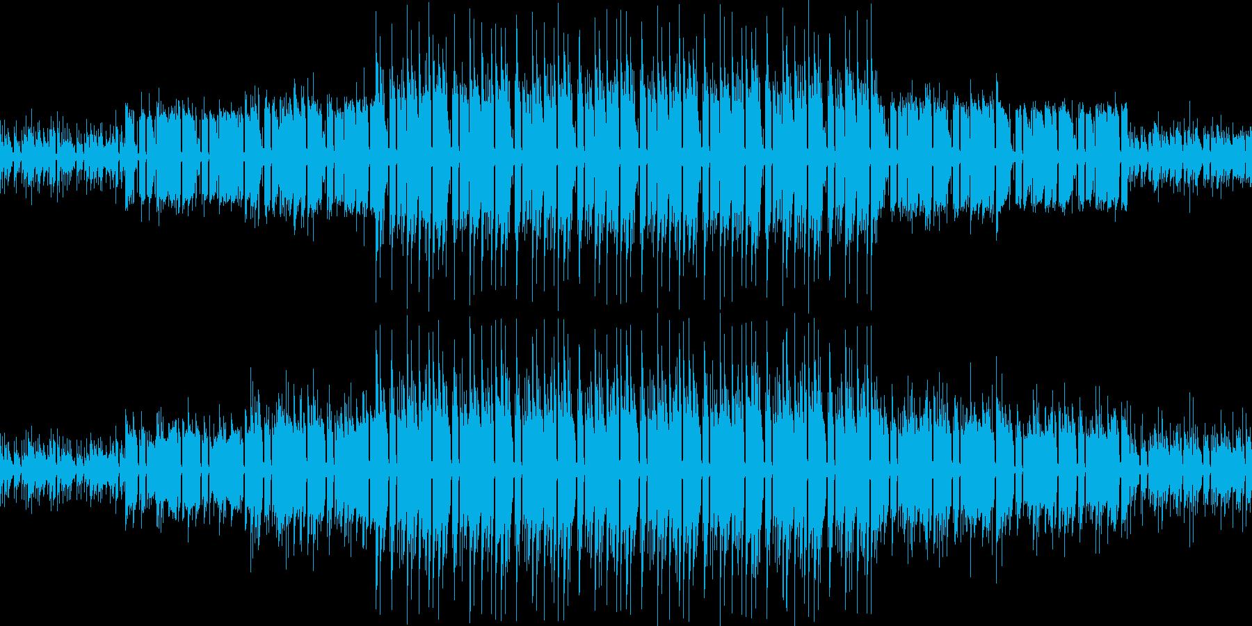 【何かが起こる予感/エレクトロニカ】の再生済みの波形