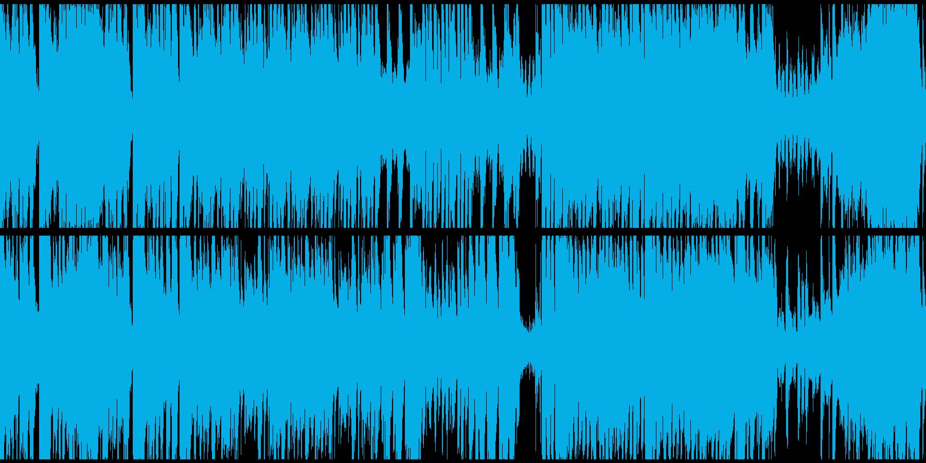 わくわくするディズニー風ビッグバンド楽曲の再生済みの波形