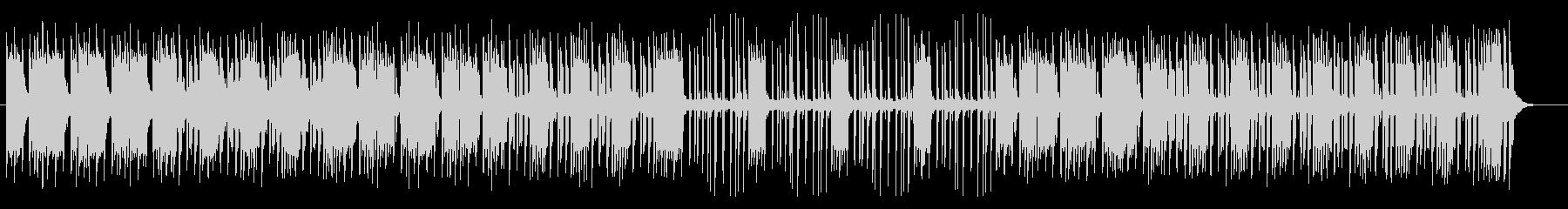 明るく軽やかなシンセサイザーサウンドの未再生の波形