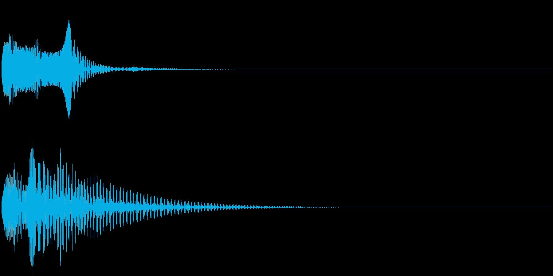Baby 幼児玩具向け可愛い電子音3の再生済みの波形