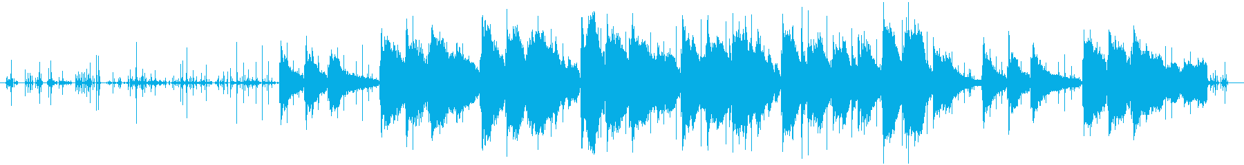 ピアノとタイピングで綴る思い出(フル)の再生済みの波形