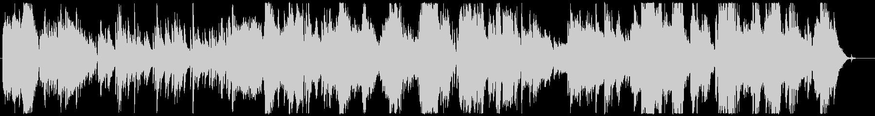 物語の導入部に最適なミステリアスな序奏の未再生の波形