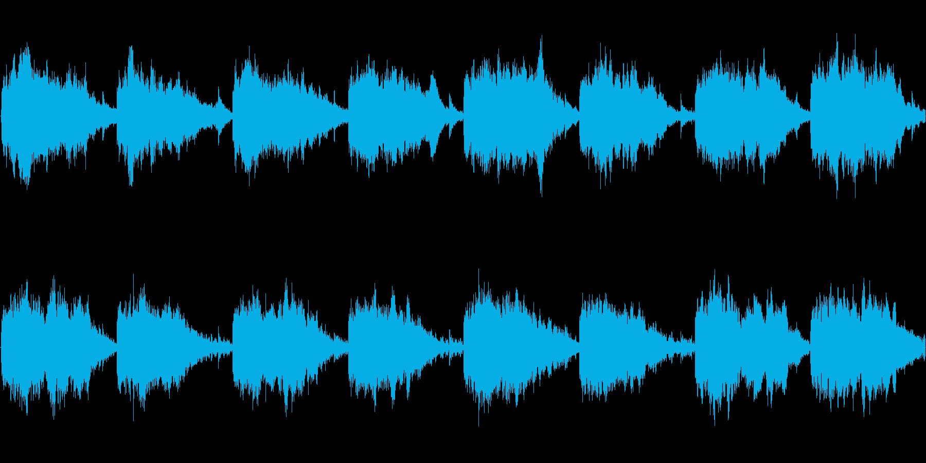 テクノ神秘ループの再生済みの波形