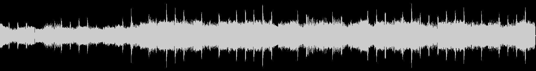 コンピューター音の未再生の波形