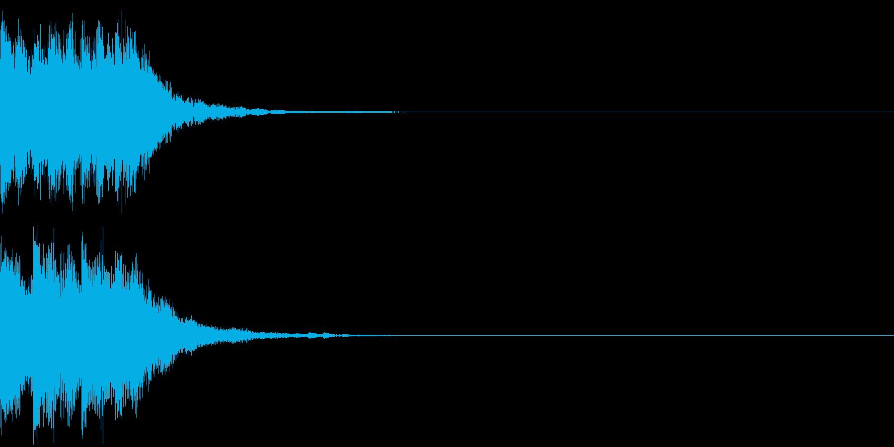 アップ チャラン 上がる 変身 変化 3の再生済みの波形