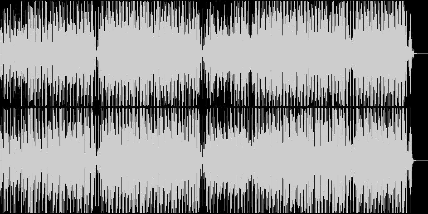 ポップ感動映像に ピアノで爽やかおしゃれの未再生の波形