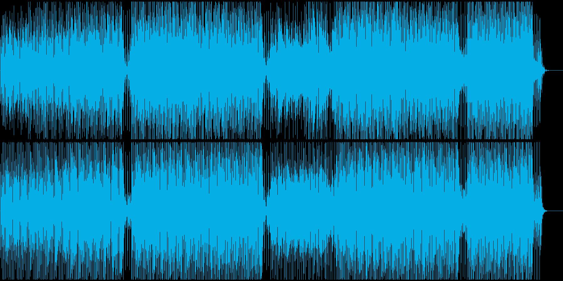 ポップ感動映像に ピアノで爽やかおしゃれの再生済みの波形